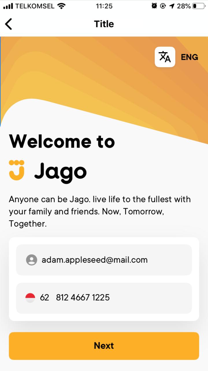 Cara Daftar Bank Jago Lebih Gampang lewat Aplikasi Bibit 3