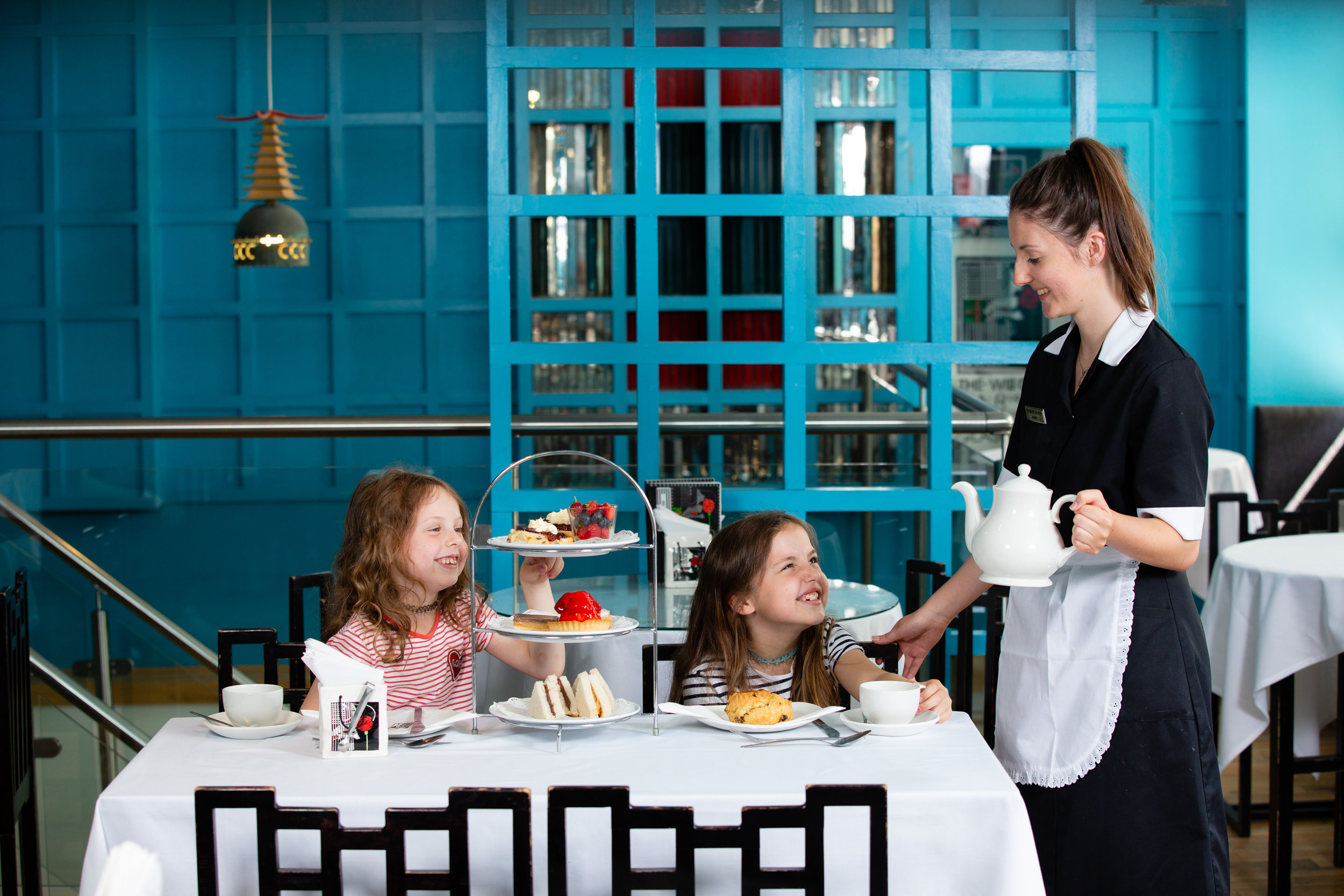 Ruby and Nina with Afternoon Tea landscape with Jenny 3.JPG