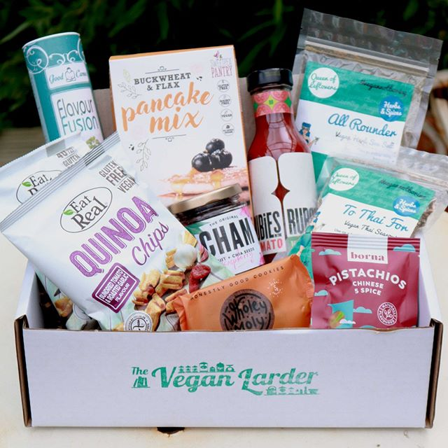 We have some HUGE EXCITING NEWS! ☺️✨🙋♀️⠀⠀⠀⠀⠀⠀⠀⠀⠀ We've teamed up with the incredible @vegan_larder on this months box and we even have a cheeky DISCOUNT code so you guys can try it out! ⠀⠀⠀⠀⠀⠀⠀⠀⠀ ⠀⠀⠀⠀⠀⠀⠀⠀⠀ The Vegan Larder boxes are packed with exciting products to make plant based cooking and eating easy and exciting (available monthly and as one off gifts) ❤️. Think super sauces, special dipping oils, marinades and spice mixes, a sweet treat (sometimes two!), healthy snacks and something unexpected 😍. They are doing extra special deals this month.⠀⠀⠀⠀⠀⠀⠀⠀⠀ ⠀⠀⠀⠀⠀⠀⠀⠀⠀ ✨Special offer codes:⠀⠀⠀⠀⠀⠀⠀⠀⠀ AUGUST10 (for £10 off your first subscription box)⠀⠀⠀⠀⠀⠀⠀⠀⠀ AUGUST5 (for £5 off a gift box)⠀⠀⠀⠀⠀⠀⠀⠀⠀ ⠀⠀⠀⠀⠀⠀⠀⠀⠀ The Vegan Larder boxes:⠀⠀⠀⠀⠀⠀⠀⠀⠀ ✌🏼use products from small businesses⠀⠀⠀⠀⠀⠀⠀⠀⠀ ✌🏼are palm oil free⠀⠀⠀⠀⠀⠀⠀⠀⠀ ✌🏼have a gluten free option⠀⠀⠀⠀⠀⠀⠀⠀⠀ ⠀⠀⠀⠀⠀⠀⠀⠀⠀ What are you waiting for 😍🙊?⠀⠀⠀⠀⠀⠀⠀⠀⠀ .⠀⠀⠀⠀⠀⠀⠀⠀⠀ .⠀⠀⠀⠀⠀⠀⠀⠀⠀ . #FoodIsLife #FoodIsMedicine #Jam #Spreads #Vegan #GlutenFree #ChiaSeed #ChiaSeeds #EatCham #ChiaJam #Cham #ChiaSeeds #ChiaSeedJam #FoodForThought #WhatVegansEat #Mindful #EatGoodFeelGood #FoodHeaven  #DairyFree #VeganCommunity #NoNasties #RefinedSugarFree #BestOfVegan #RecipeIdeas #FoodEnvy #Foodgasm #EnjoyPlantPower #FoodInspiration #VegansOfIG #WeChammin