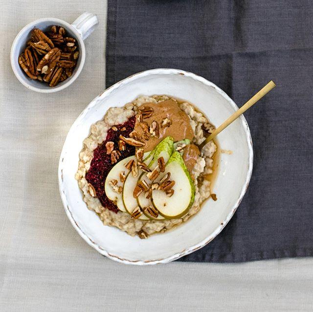 Pear on Porridge.⠀⠀⠀⠀⠀⠀⠀⠀⠀ It's a thing- trust us. Especially with some raspberry CHAM ❤️⠀⠀⠀⠀⠀⠀⠀⠀⠀ Would you try it?⠀⠀⠀⠀⠀⠀⠀⠀⠀ .⠀⠀⠀⠀⠀⠀⠀⠀⠀ .⠀⠀⠀⠀⠀⠀⠀⠀⠀ . ⠀⠀⠀⠀⠀⠀⠀⠀⠀ #FoodIsLife #FoodIsMedicine #Jam #Spreads #Vegan #GlutenFree #ChiaSeed #ChiaSeeds #EatCham #ChiaJam #Cham #ChiaSeeds #ChiaSeedJam #FoodForThought #WhatVegansEat #Mindful #EatGoodFeelGood #FoodHeaven  #DairyFree #VeganCommunity #NoNasties #RefinedSugarFree #BestOfVegan #RecipeIdeas #FoodEnvy #Foodgasm #EnjoyPlantPower #FoodInspiration #VegansOfIG #WeChammin
