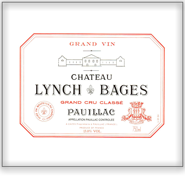 Chateau Lynch Bages<a href=/lynch-bages>Bordeaux, France</a>