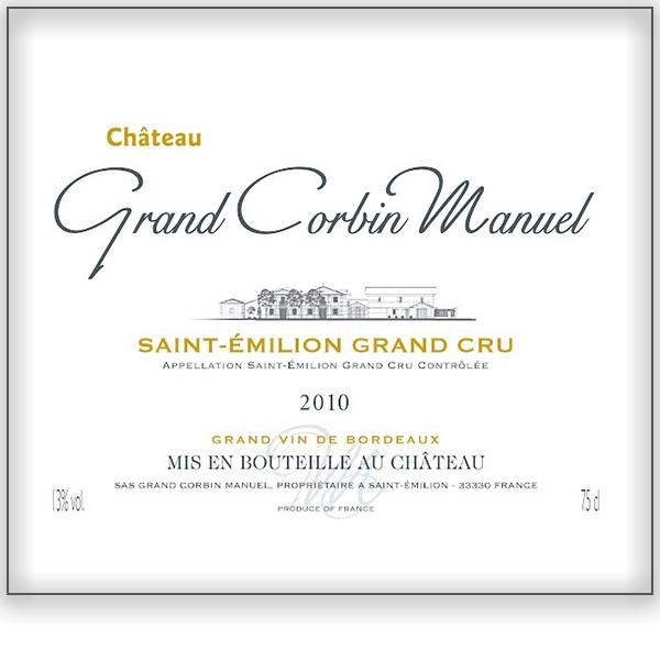 Chateau Grand Corbin Manuel<a href=/grand-corbin-manuel>Bordeaux, France ➤</a>