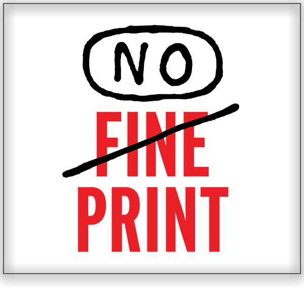 No Fine Print<a href=/no-fine-print> California ➤</a>