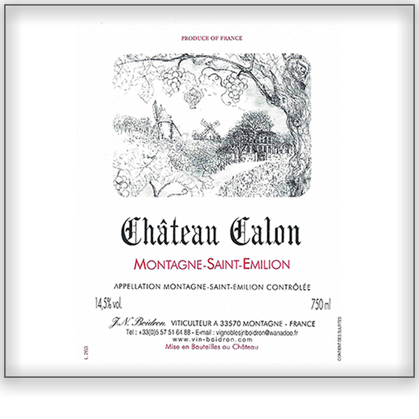 Chateau Calon<a href=/chateau-calon>Bordeaux, France ➤</a>
