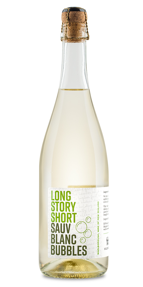 LONG STORY SHORT SAUV BLANC BUBBLES     TECH SHEET       LABEL
