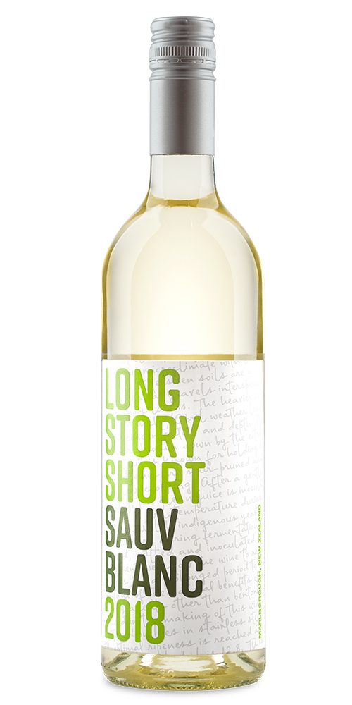 LONG STORY SHORT SAUV BLANC     TECH SHEET       LABEL