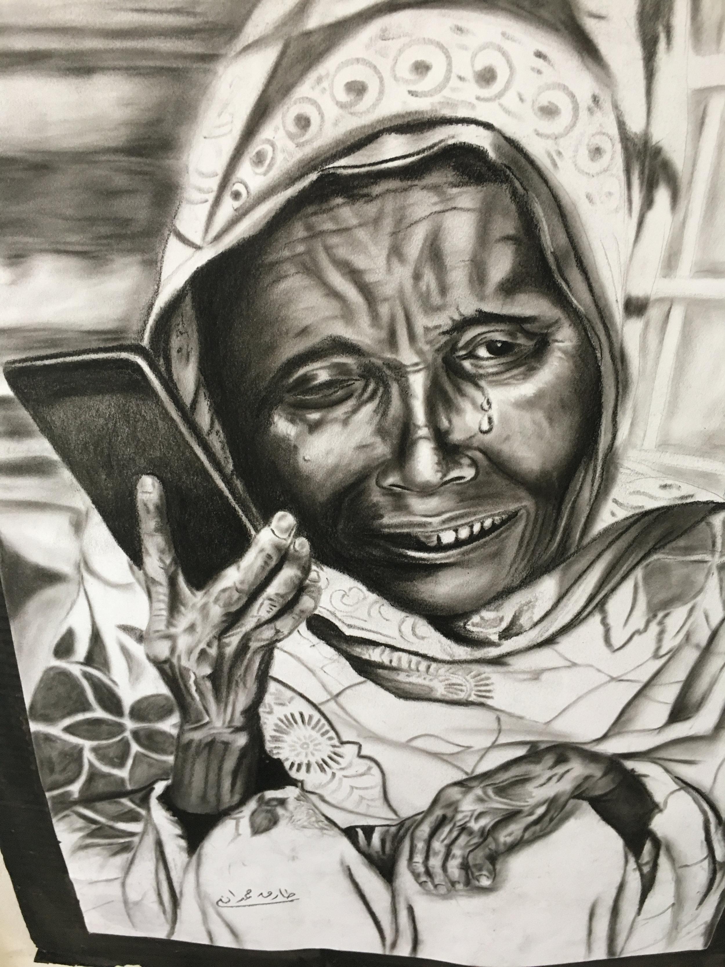 Art in Za'atari expresses the ineffable