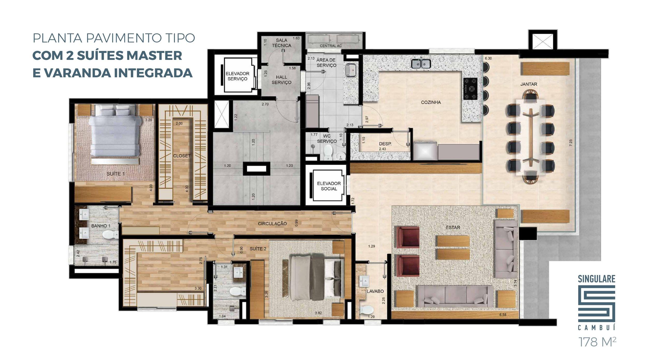 planta 2 suites master varanda integrada.jpg