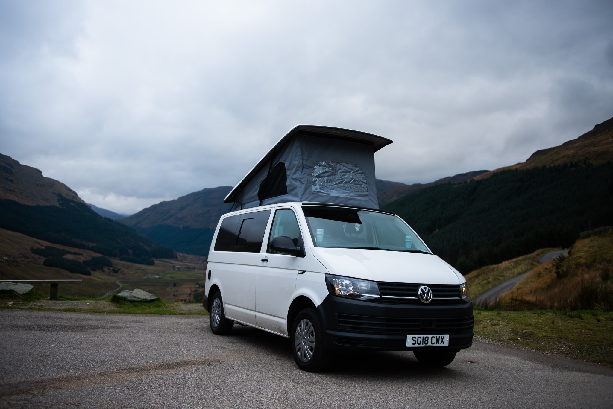 Freedom Camper van hire Scotland