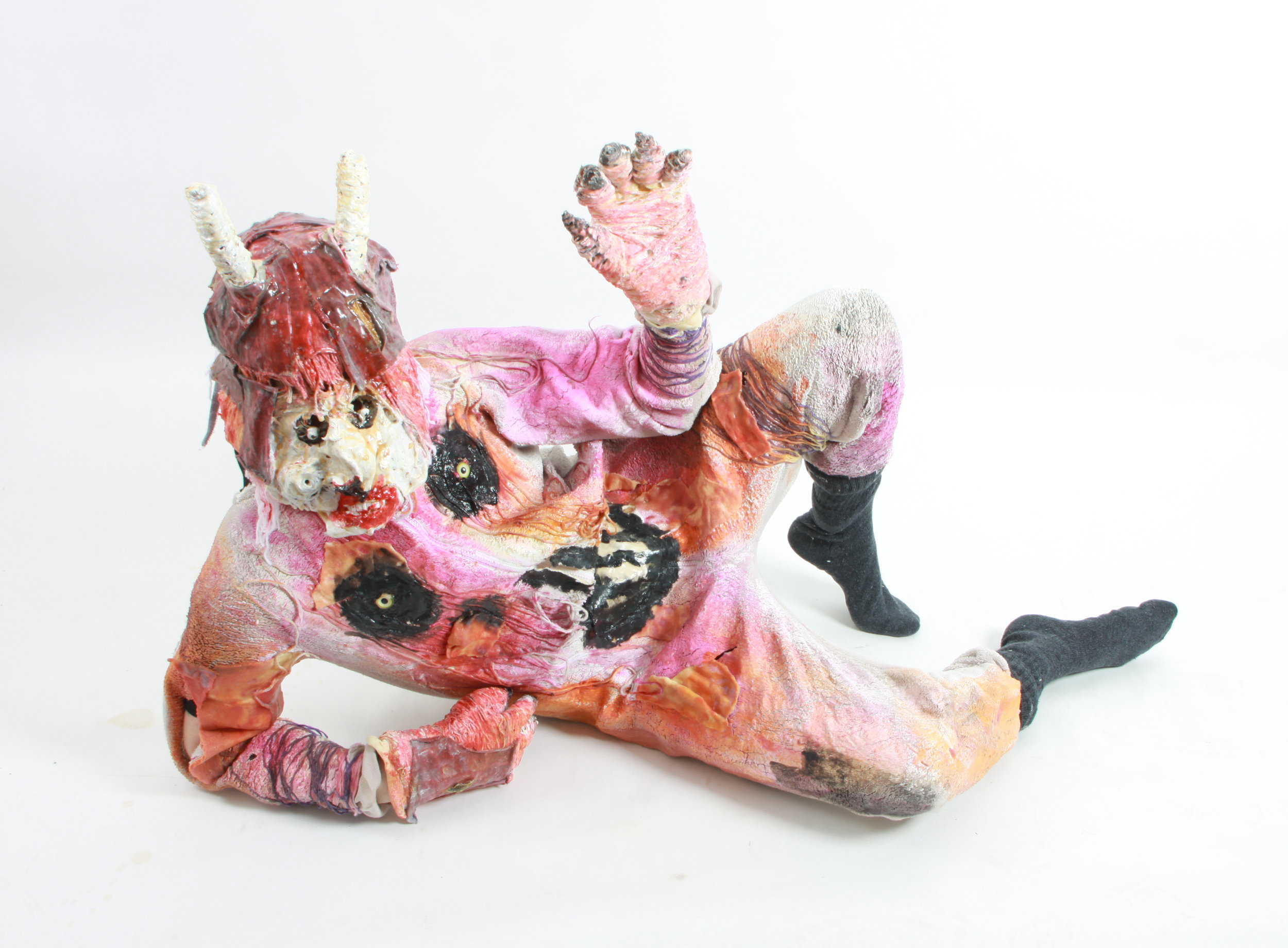 Devil Monster, 2018. Photgraph by Amy Ellison of costume used in 'Hobgoblin Limbo' by John Powell-Jones.JPG