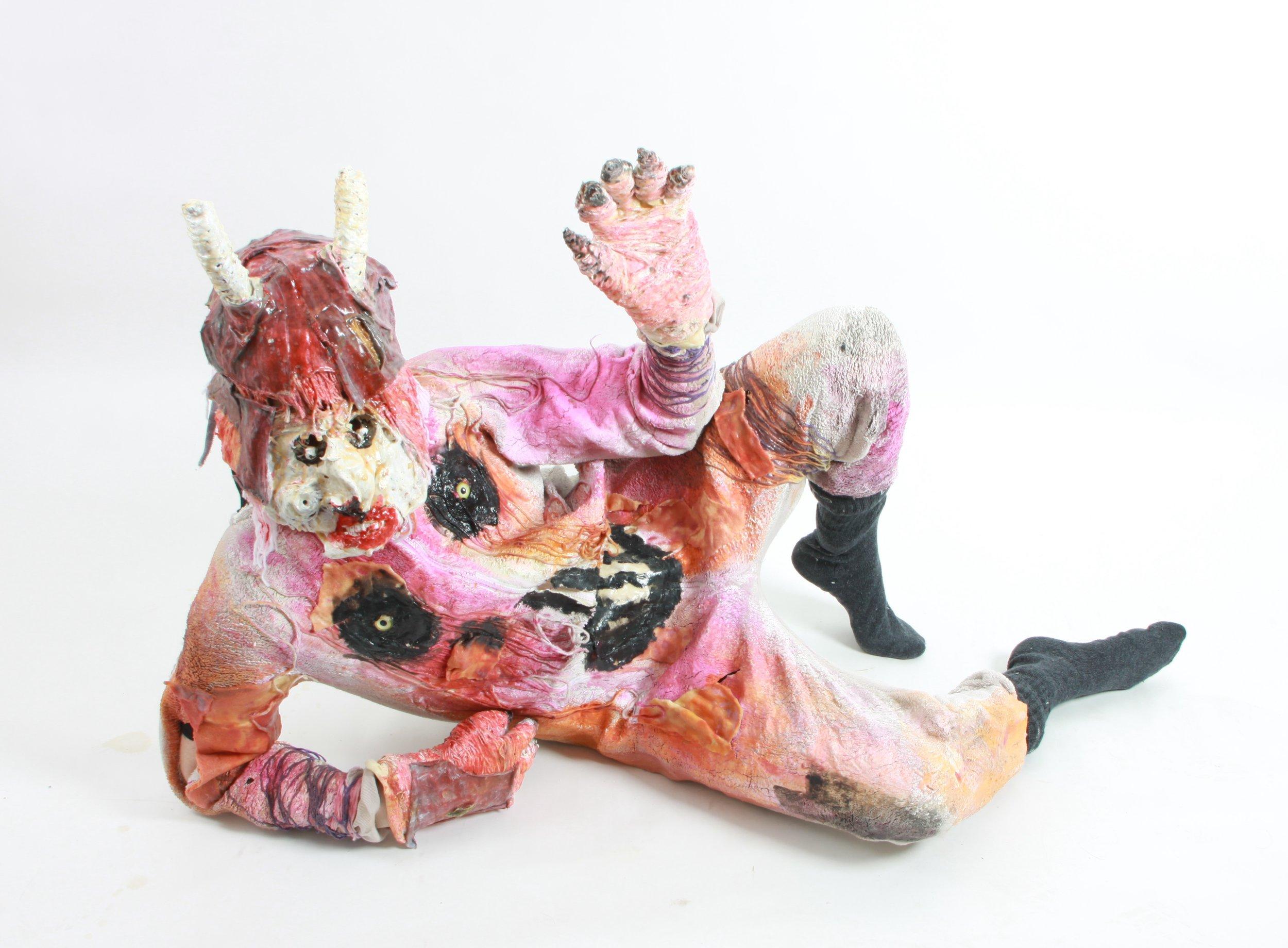 'Devil Monster' by Amy Ellison, photograph of costume used in 'Hobgoblin Limbo' by John Powell-Jones.JPG