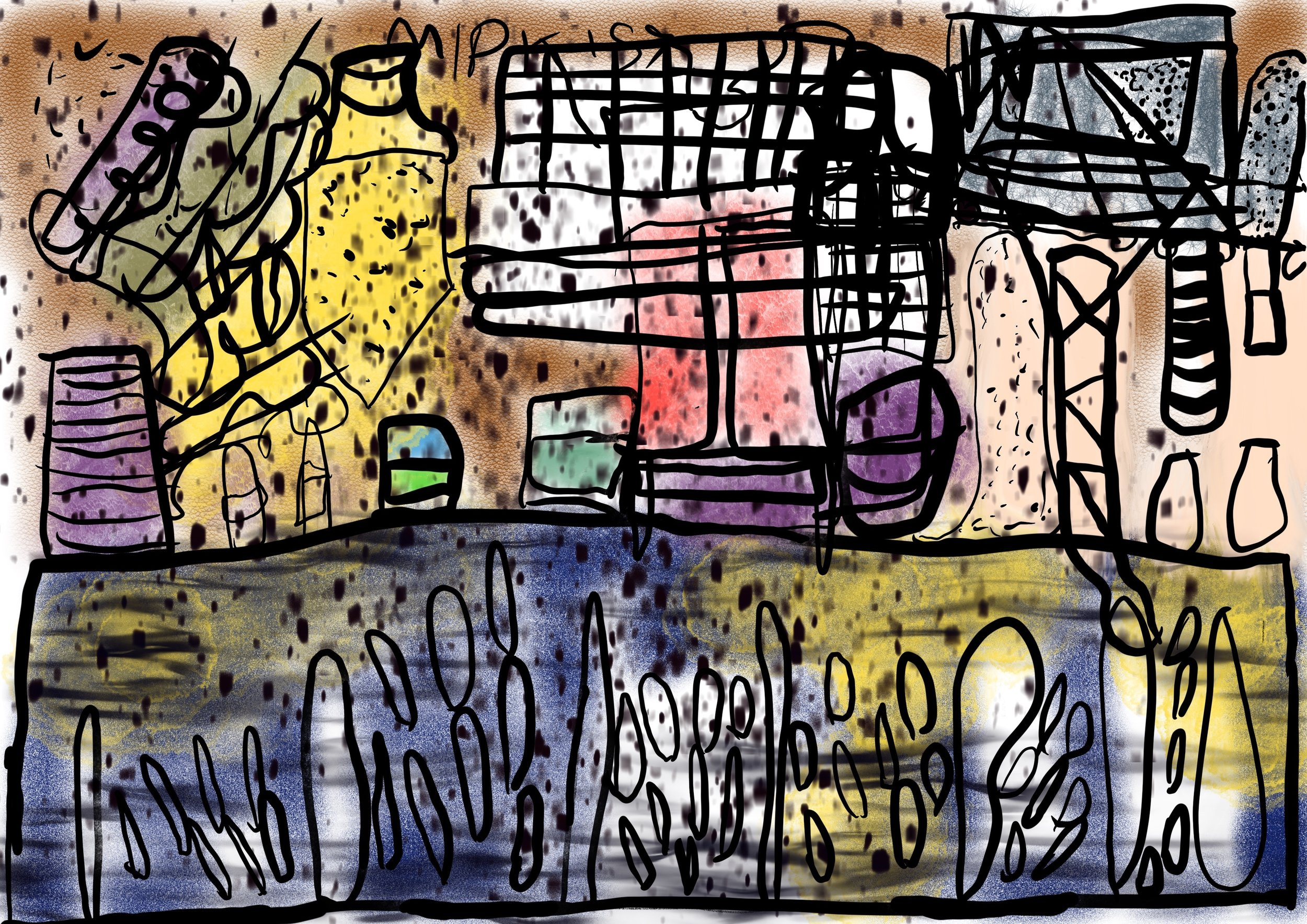 'Different Pictures 1', iPad drawing By Amy Ellison.JPG