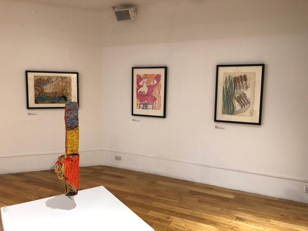 Exhibition view: Conversations Series II: 'Other Transmissions' Artlink Hull.