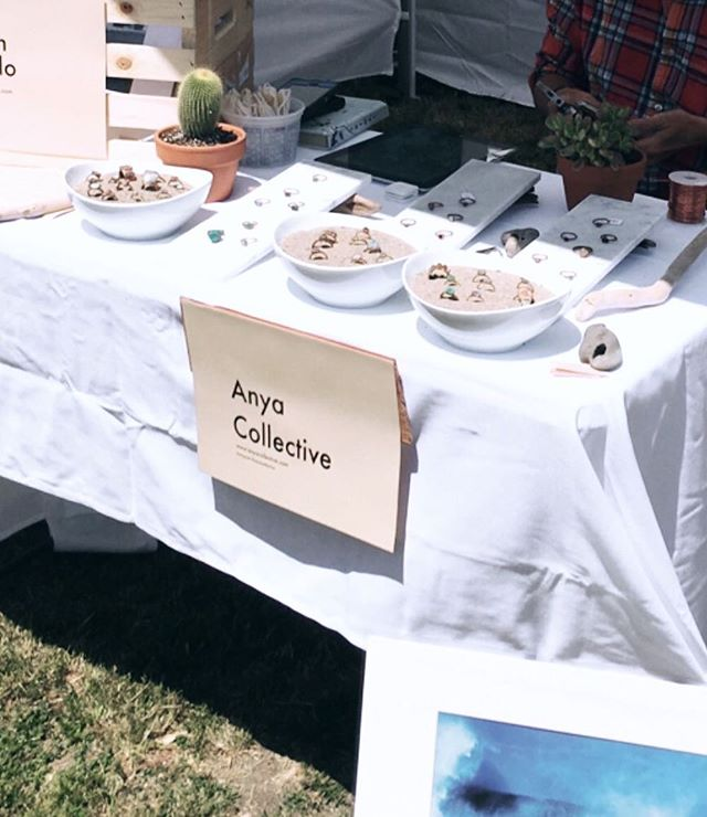 Thanks so much to everyone who came out to the Venice @artistsandfleas last Saturday! We will be there again this weekend and have some fun new earring and ring designs for ya ✌️🌻🌵