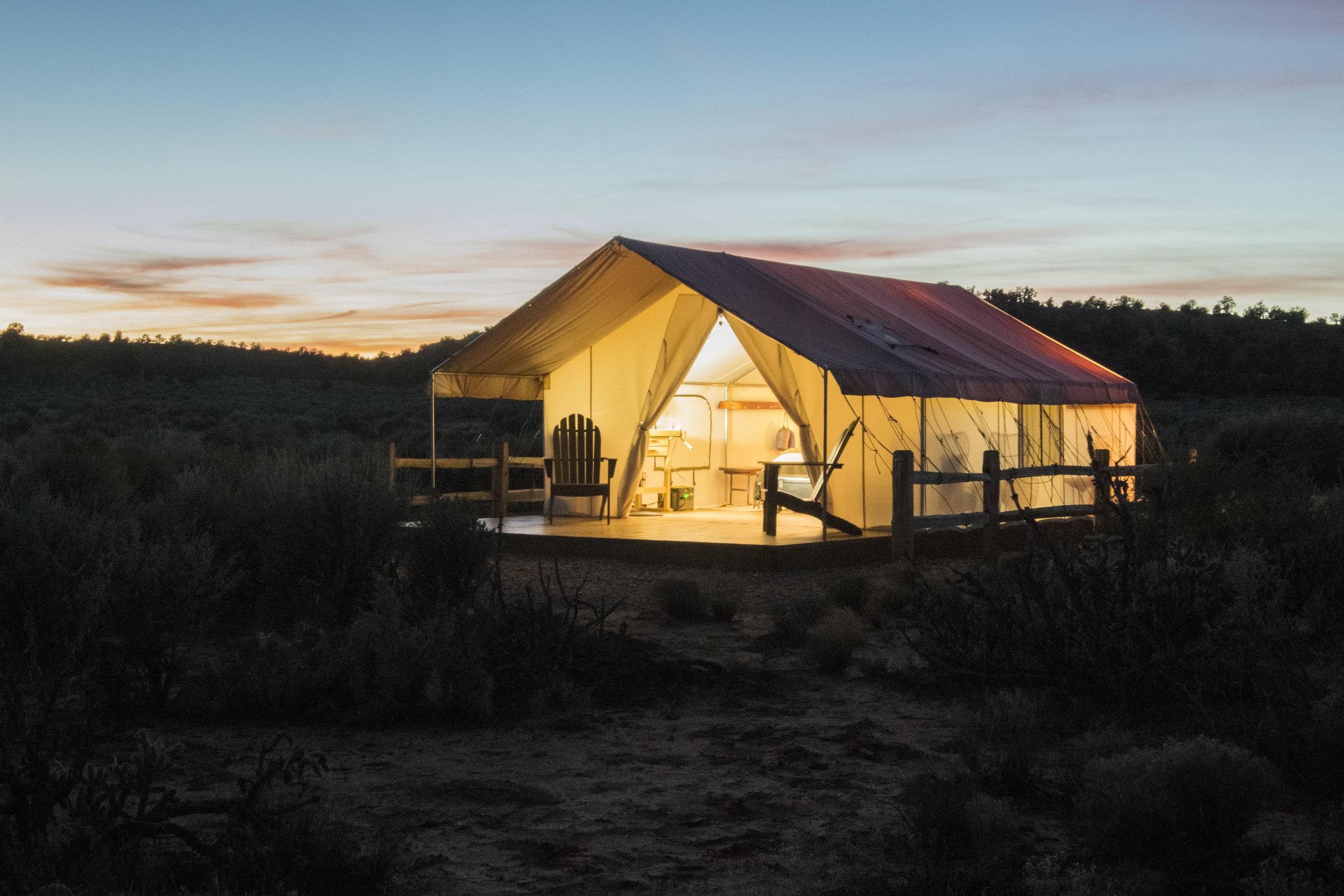 The Escalante Tent -