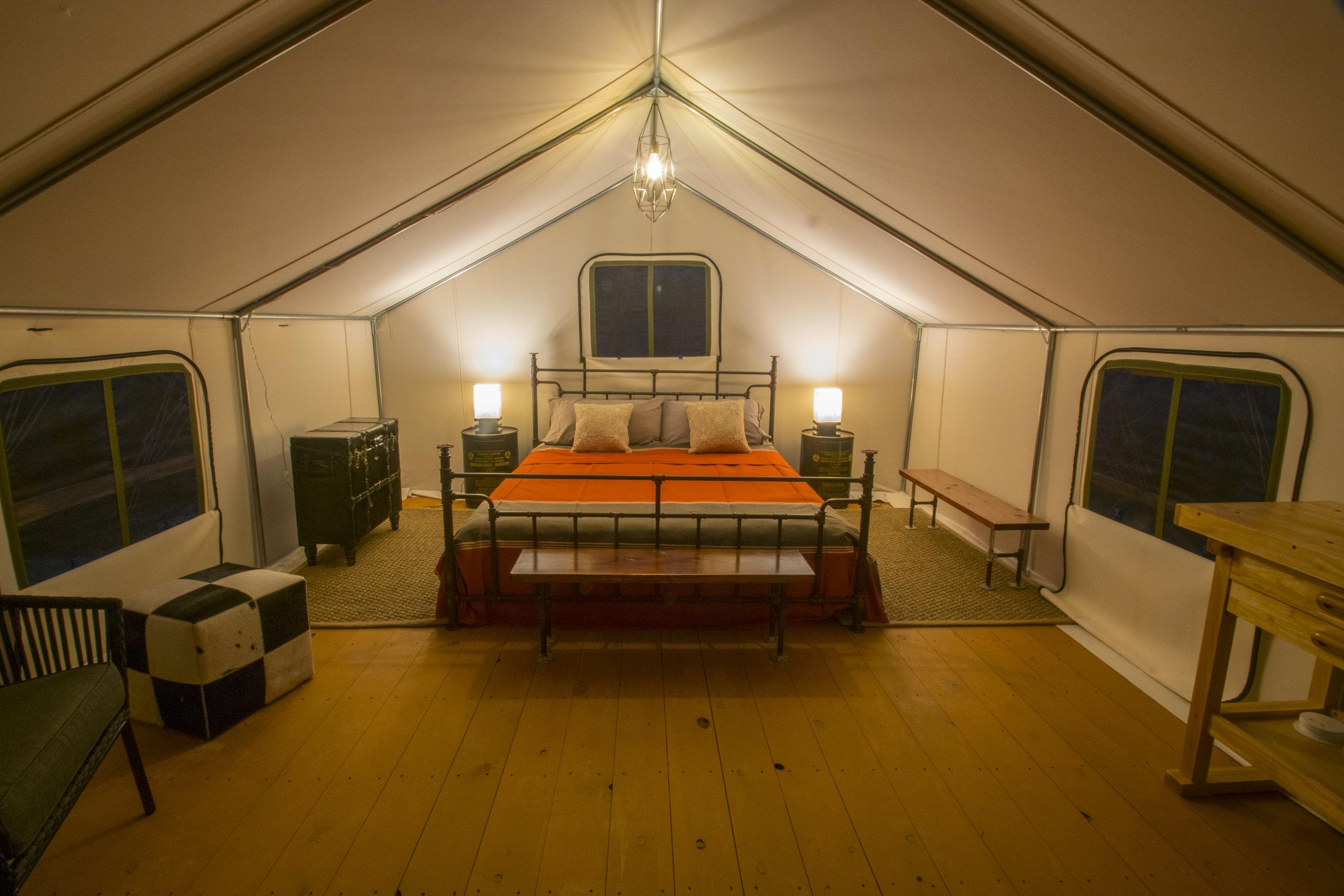 The Hayduke Tent -