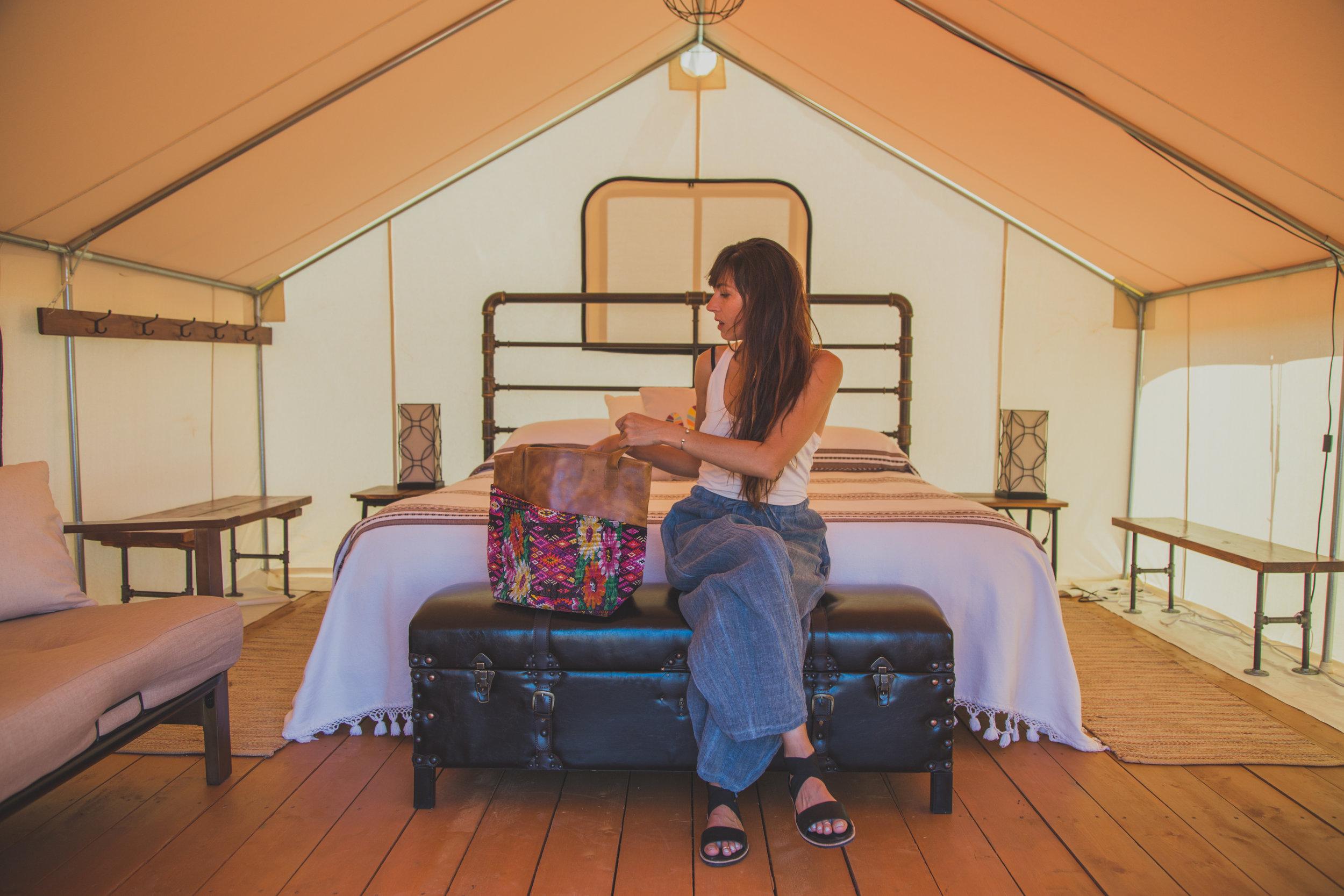 The Katie Lee Tent -