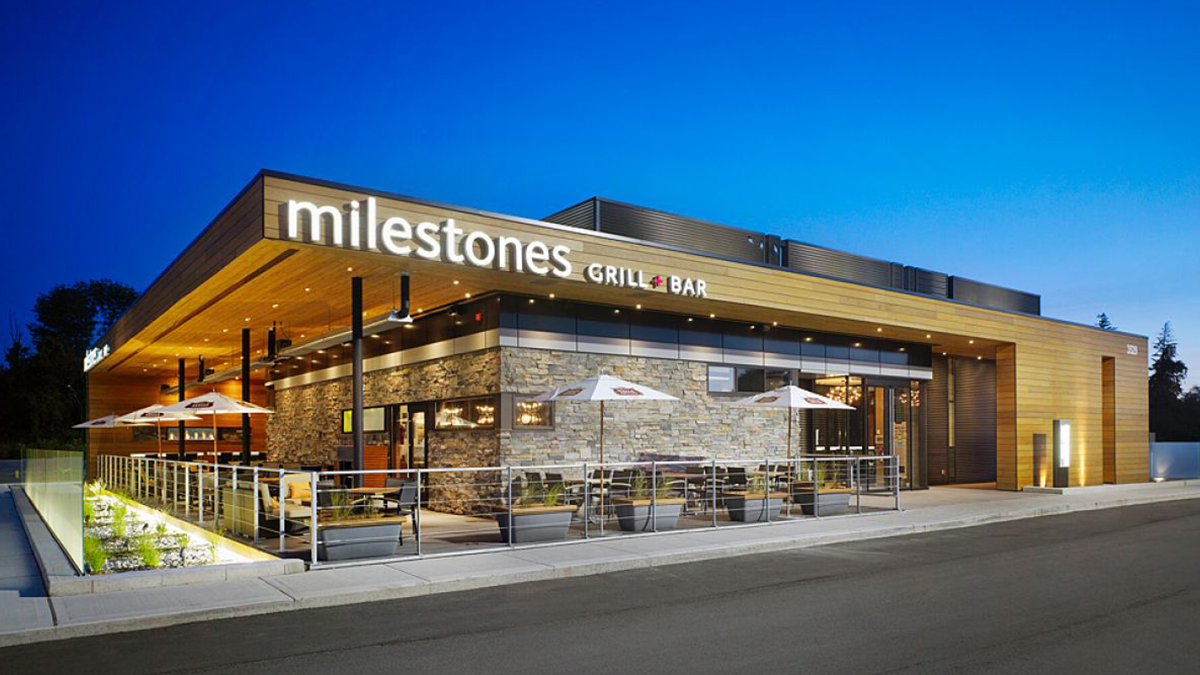 Milestones - Kingston is home to many beautiful restaurants, but Milestones stands alone above the competitions. Nestled inside the old S&R building this location is not only central but simply stunning. Coupled with live music, great food and outstanding service this restaurant is one of the nicest in Kingston. The food and service there are top notch. If you are looking to take that special someone on a date, i would recommend Wednesday night. They have a great deal where you get a appetizer, two entrees and a desert for 50 dollars.
