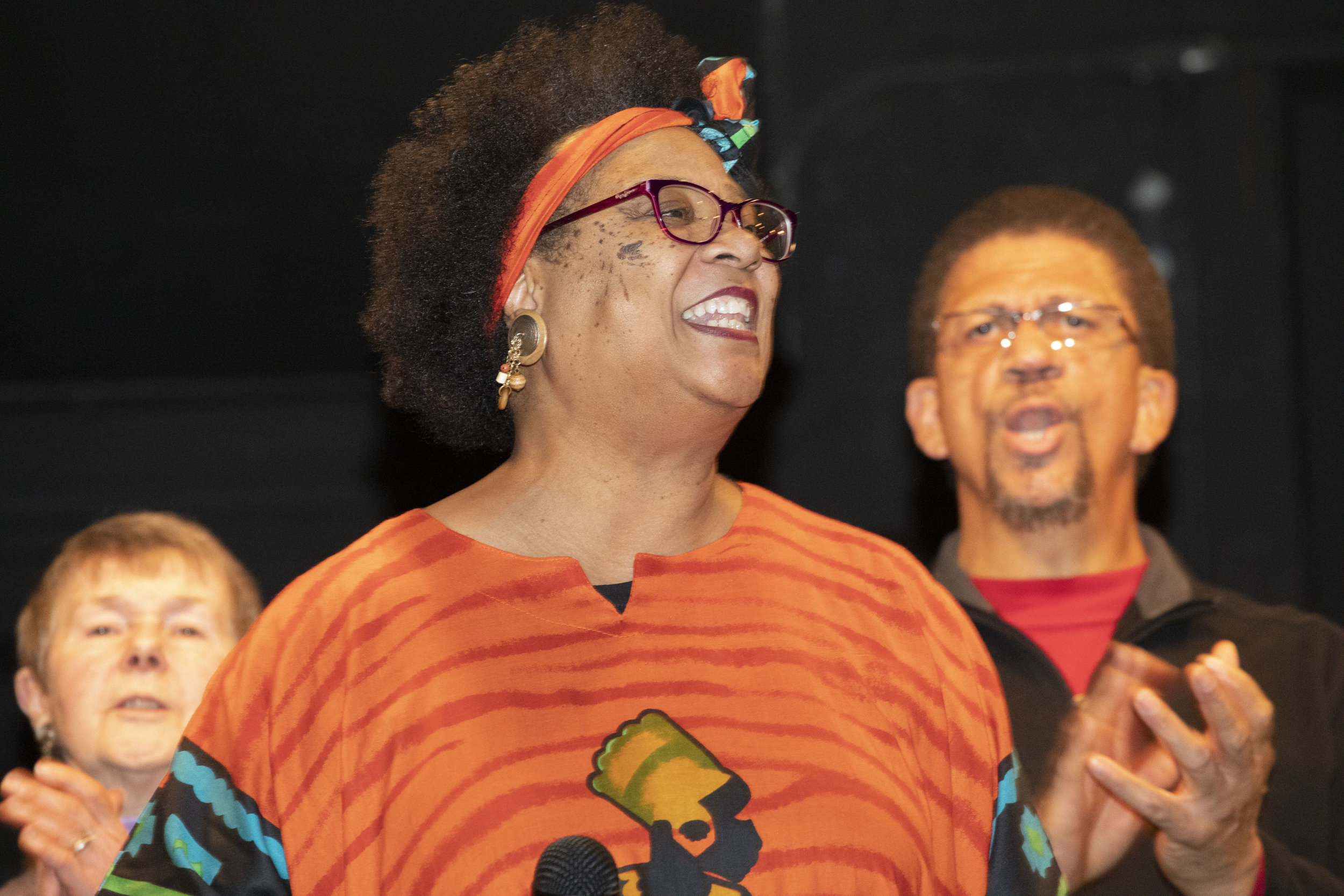 Singers at the AAHA's annual Martin Luther King Jr.'s birthday celebration.
