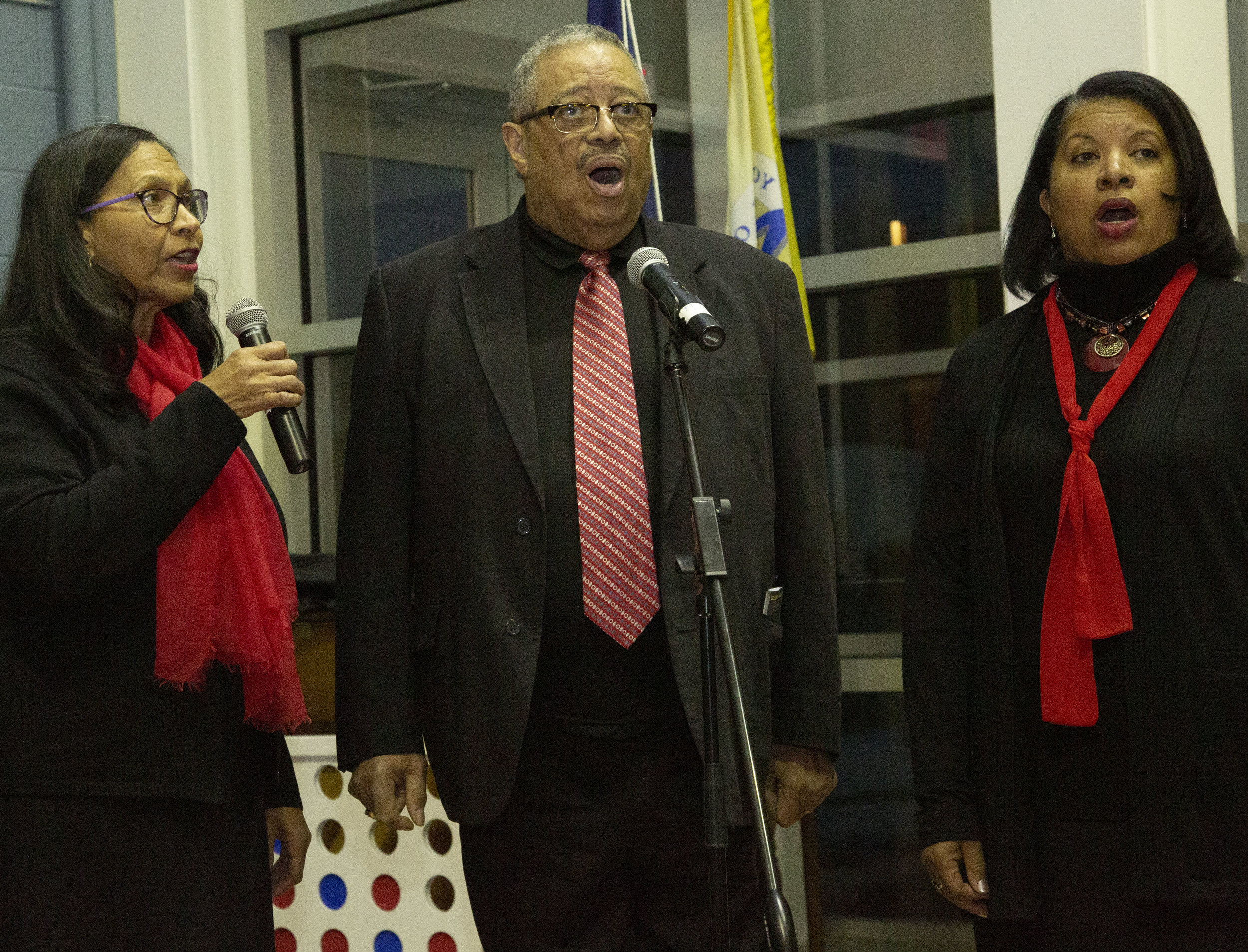The community celebrates Dr. Martin Luther King Jr.'s birthday at Lord Fairfax Community College.