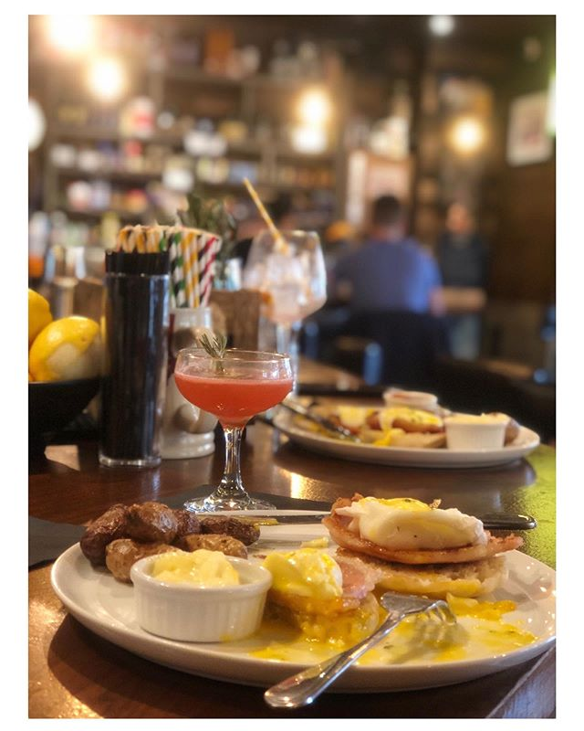 Brunch, every Saturday and Sunday 11am-4pm! #welcomehome  #queensfoodie  #whiskey