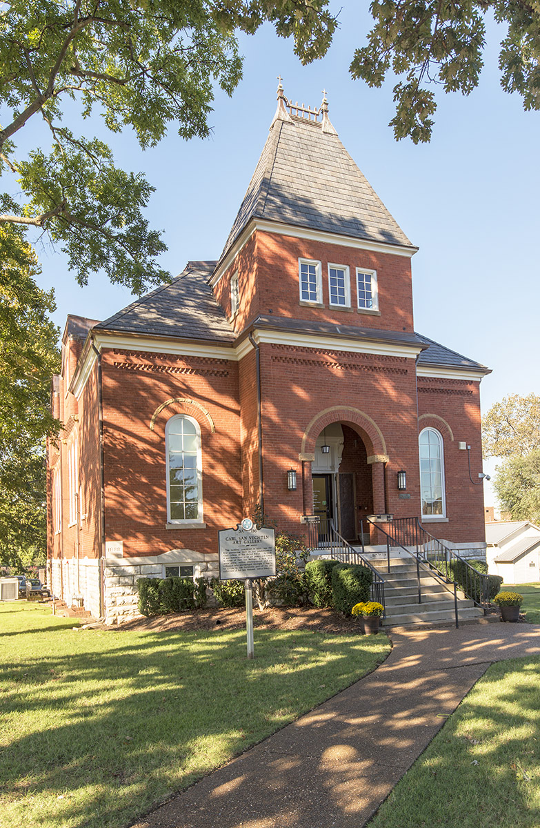 The Carl VanVechten Gallery - Located at the corner of DB Todd Jr Blvd and Jackson St (click here for map)Monday-Friday 10am-4pmClosed Fisk University holidays (click here for Fisk University academic calendar)Photo: Jerry Atnip