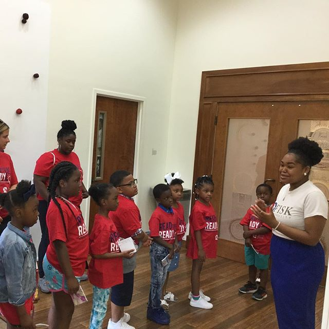 We were thrilled to host  our young visitors from Robert Churchwell Museum Magnet Elementary School. Come back soon! #FiskUniversity #FiskUniversityGalleries #FiskForever