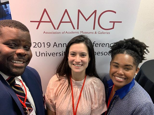 We're excited to be part of the 2019 Alliance of Academic Museums and Galleries (AAMG) conference! #aamg2019 #universityofminnesota
