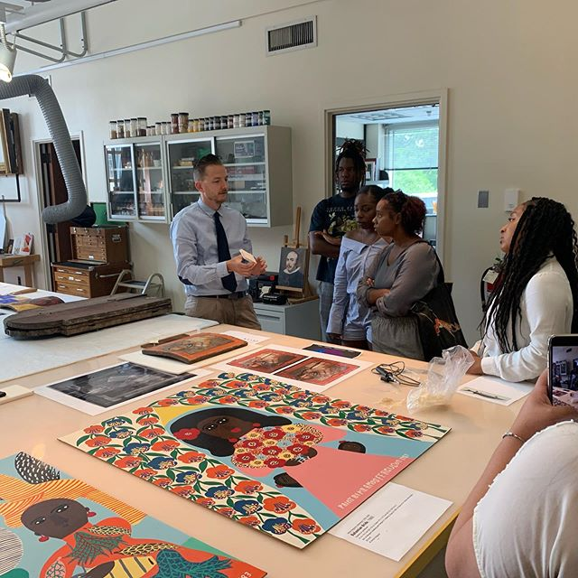 We've had a busy summer! Part 1 of 3:  We stared July with the opportunity to participate  in Princeton University Art Museum's— Curation, Leadership, Art and Practice Program (CLAP) through the #HBCUAllianceofMuseumsandGalleries. Special thank you Princeton's Art Museum's Director James Stewart, Caroline Harris and @diversityconsultant1 and the Princeton Art Museum Team! We not only heard from the curatorial team, conservators and leadership, we also had the opportunity to hear from Thelma Golden (Studio Museum in Harlem), Kristen Windmuller-Luna (Brooklyn Museum), June Kelly, Gallerist and  artist Mario Moor and Philemona Williamson. We made a few stops along the way!!! That include the Apollo Theater, Sylvia's, The Brooklyn's Museum and the New Museum, to name a few.