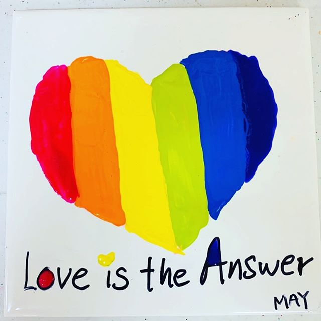 Inspired by all the survivors here so I made this as a reminder. @campmakadream @childrensbraintumorfoundation @pokerforgood #loveistheanswer #beinspired #liveinservicetoothers #givingisreceiving