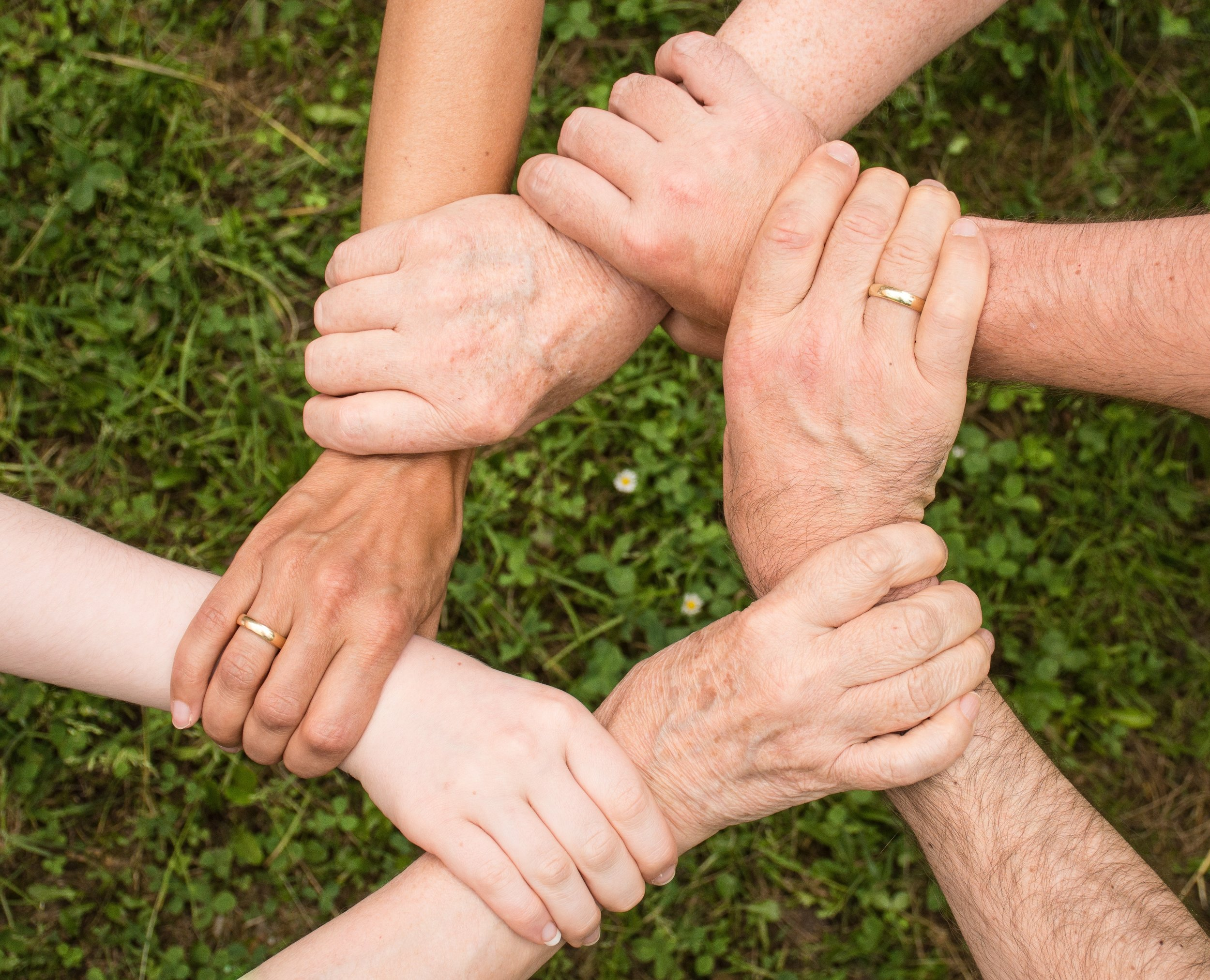 When we come together as a community, we can work together to heal the community.