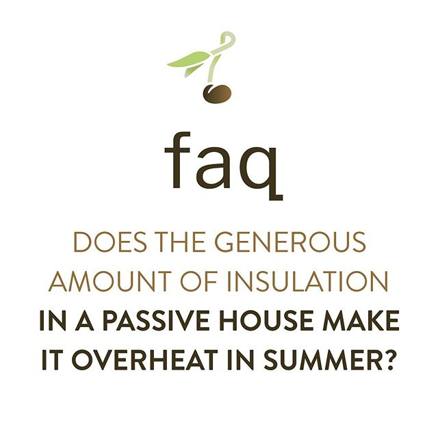 Nope! Insulation will not make your Passive Home overheat. In fact, insulation helps keep your house cool. . Ensuring summer comfort is one of the design requirements for any Passive home or building. . . . Whether it's the right summer shading on south-facing windows, a certain type of glass, or where the windows are strategically located on the home, a Passive House builder will know exactly how to avoid overheating 🥵 during the warmer months, so you can stay cool ❄😎❄in the summer. . Call us at 📞 705-990-1399 to hear more. . #TooketreePassiveHomes #MuskokaPassiveHomeBuilder #PassiveHouseBuilder #PassiveHouseInsulation #HealthyHome #tooketree