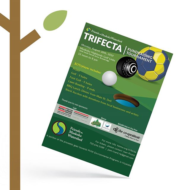 We're proudly supporting the TRIFECTA Fundraising Tournament on August 26th 2019, presented by Friend of the Muskoka Watershed! https://friendsofthemuskokawatershed.org/who-is-the-friends/ . Friends of the Muskoka Watershed is a member driven, not for profit organization that fosters the understanding, choices, actions and wise management needed to protect our freshwater ecosystems forever 🌎. . Recently, they have launched Canada's first residential wood ash recycling program that will solved the problem of calcium decline in Muskoka's forests 🌳and lakes. . READ MORE AT: https://static1.squarespace.com/static/5bd87c2c755be22c72a21775/t/5d38930f6336750001bf7eef/1563988753199/Trifecta+Press+Release.pdf . . . #TookeTreePassiveHomes #FriendsOfTheMuskokaWatershed #Muskoka #Huntsville #Fundraising