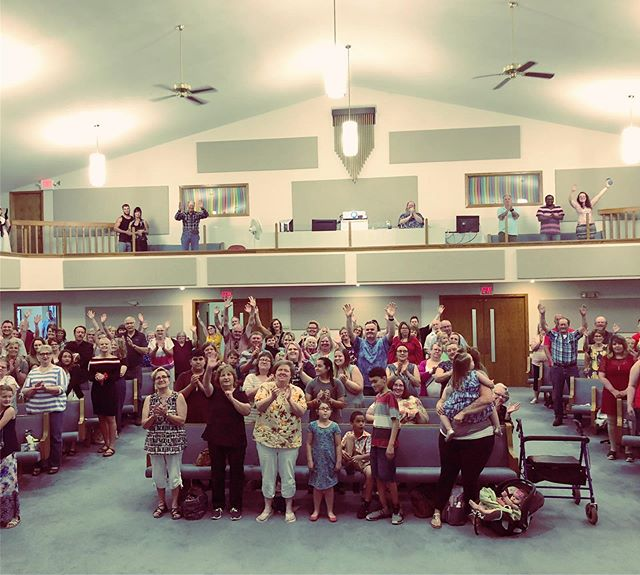 What a joy!  Thank you Atlantic, IA for a great morning together. . . . . . #atlanticiowa #cochrenandco #livemusic #christianconcert #churchservice #church #churchtakemeback