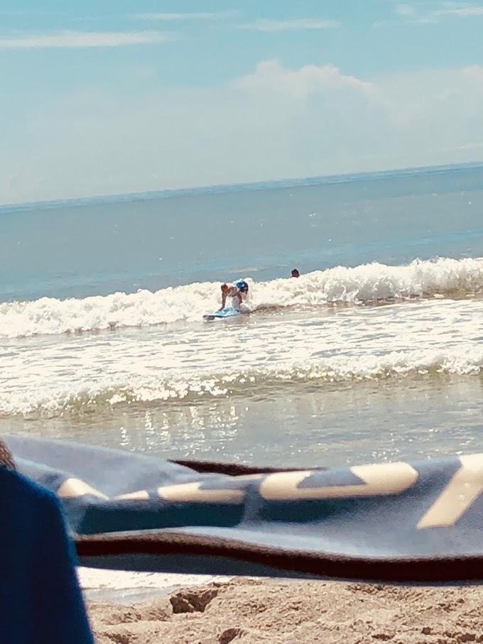 Charla Riding Thrid Wave
