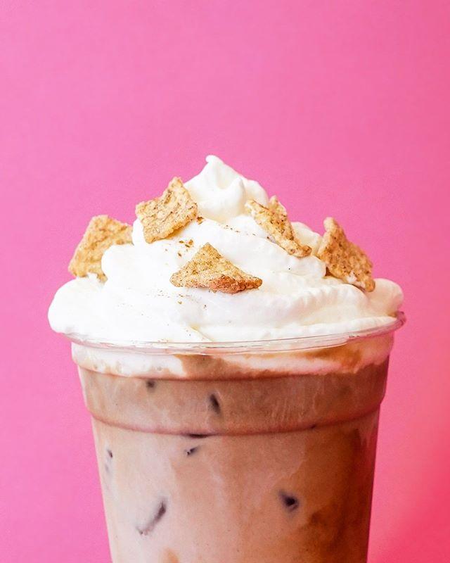 Cinnamon Toast Crunch anyone?!? 😋 ⠀ .⠀ #coffeeshop #pastry #pastries #coffee #coffeeshopcorners #mn #minnesota #cambridgemn #willardsmn #thirdwavecoffee #coffeeculture #coffeeee #tea #smalltown #upnorth #coldbrew