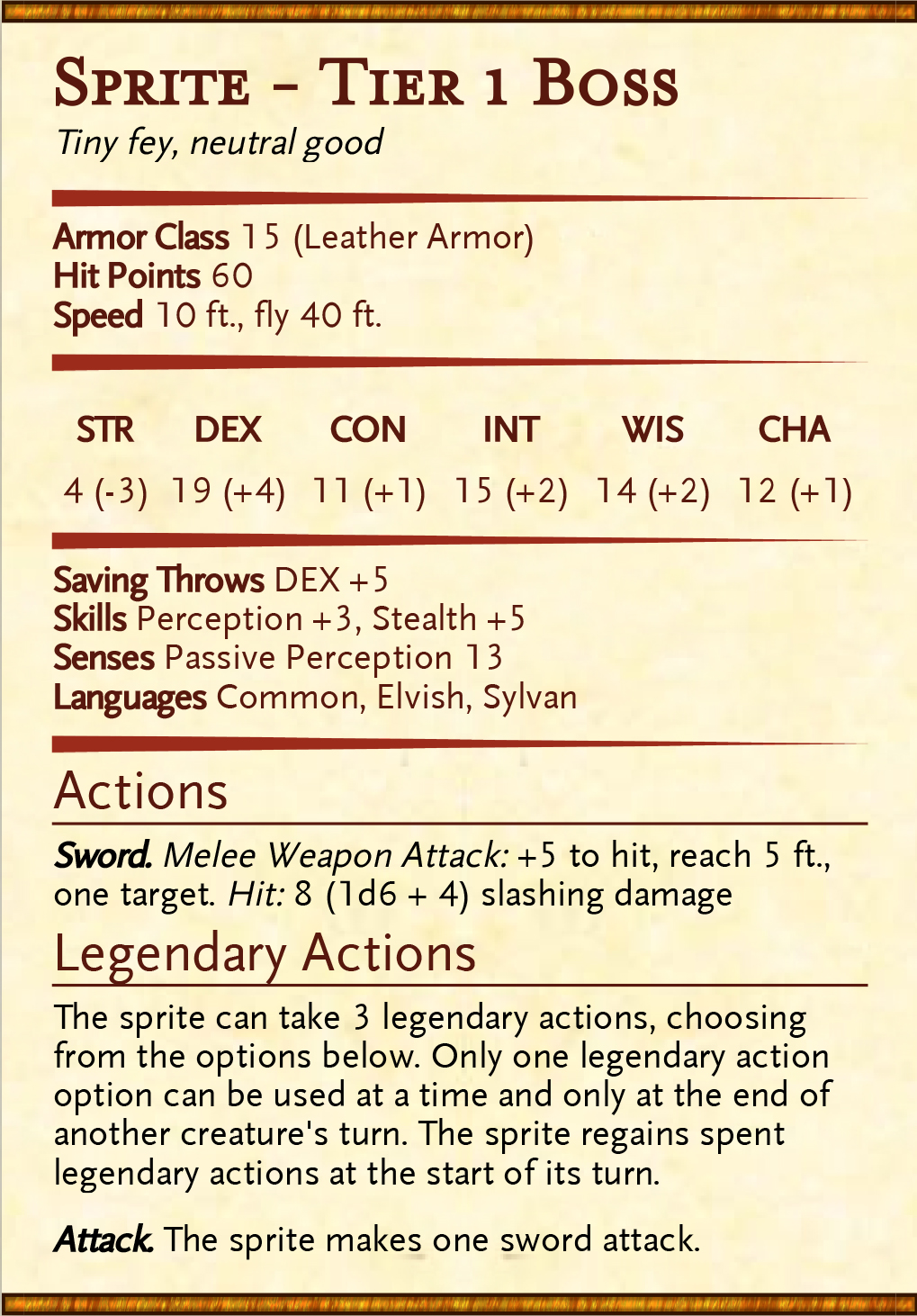 Damage Estimate Dnd 5E / Determining The Challenge Rating ...