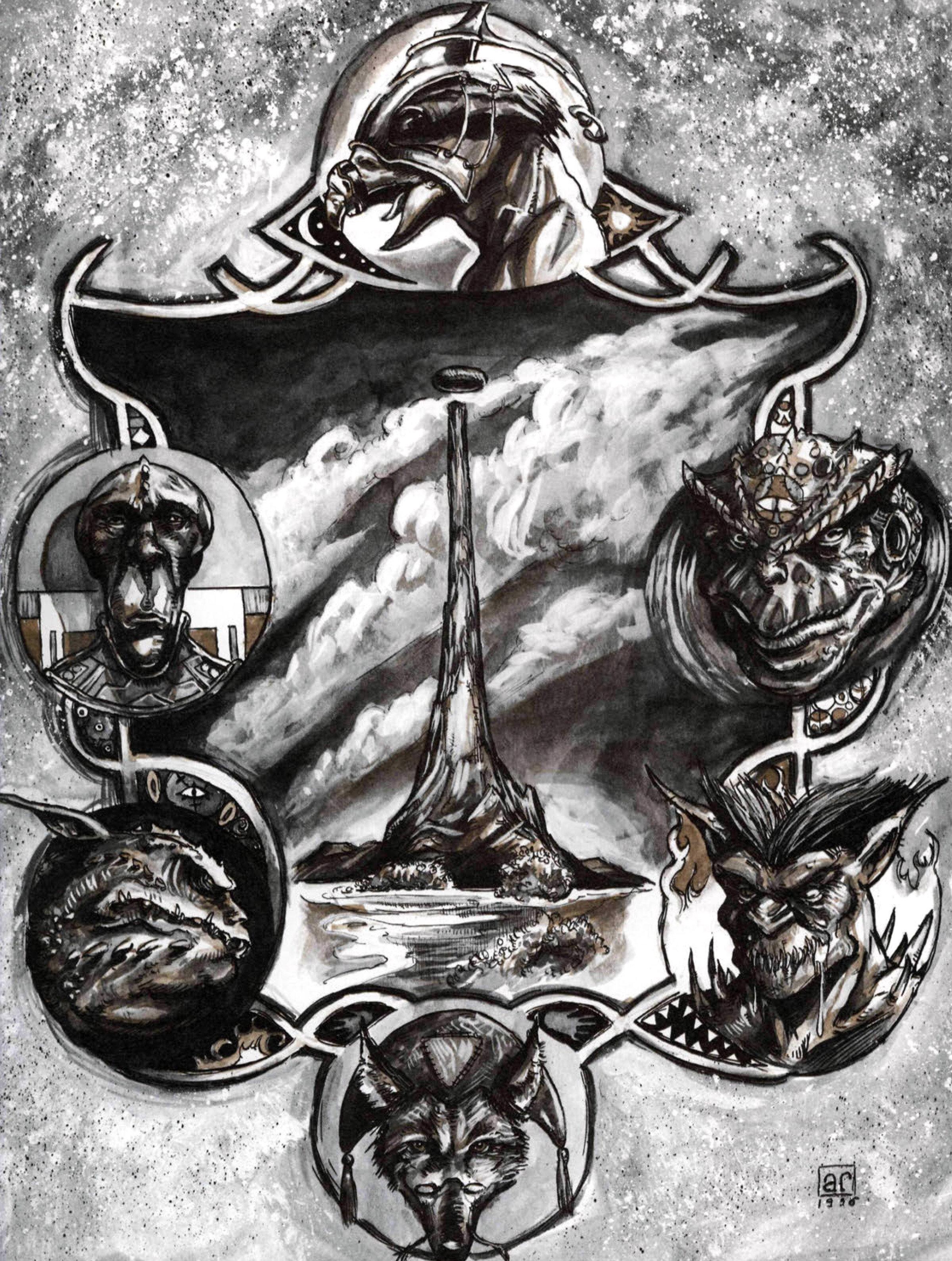 Hellbound: The Blood War , 1996 TSR Inc.