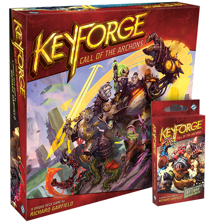 About the Game - Players match wits as they vie for the resources to forge Keys and become the first to unlock a vault of knowledge. Wield decks made up of three of the Crucible's great houses, each with their own strengths and powers…