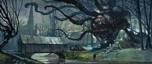One Eyed Jacques | Richmond VA | arkham horror game | brood attacks.jpg