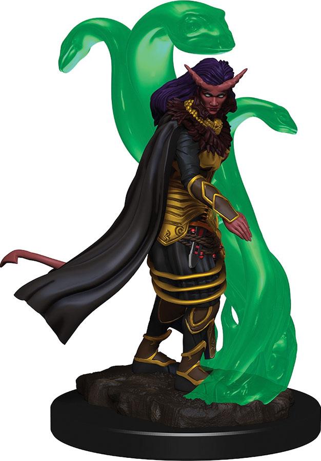 Tiefling Female Sorceror