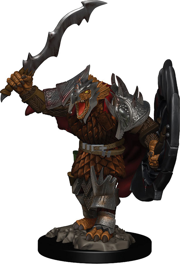 Dragonborn Male Fighter