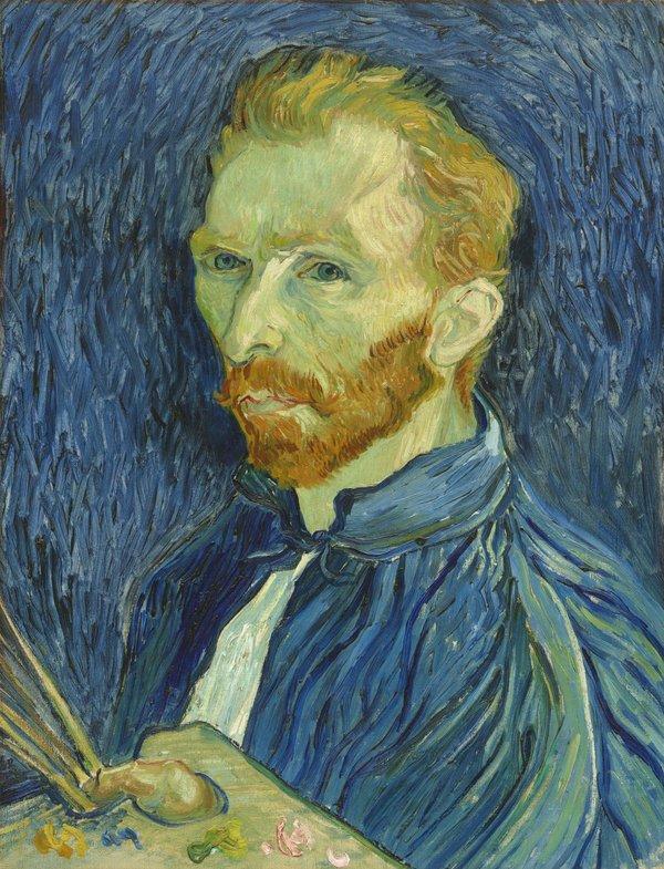 Vincent van Gogh Self Portrait, Autumn 1889. National Gallery of Art (Washington, USA)