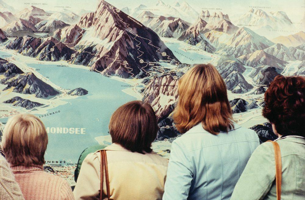 Luigi Ghirri, Salzburg, 1977, Collection privée. Courtesy Matthew Marks Gallery. © Succession Luigi Ghirri