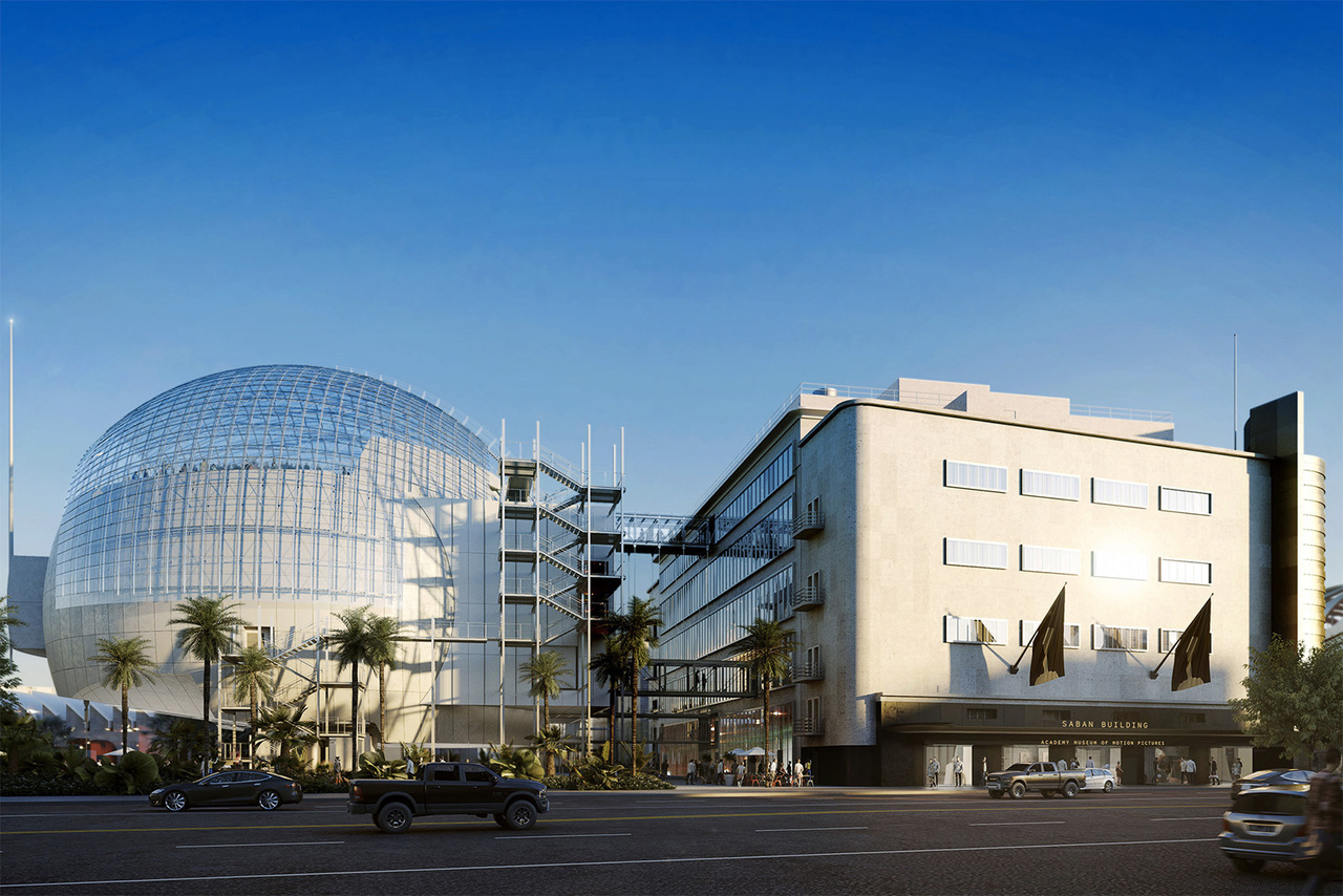 Academy Museum of Motion Pictures ©Renzo Piano Building Workshop/©A.M.P.A.S./ Images from L'Autre Image