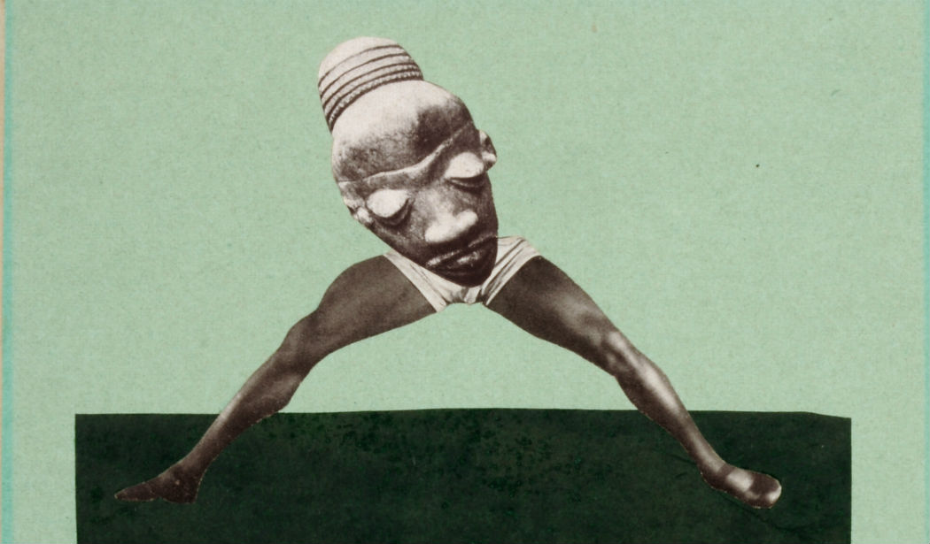 Hannah Höch,  Photomontage, 'From an Ethnographic museum' series