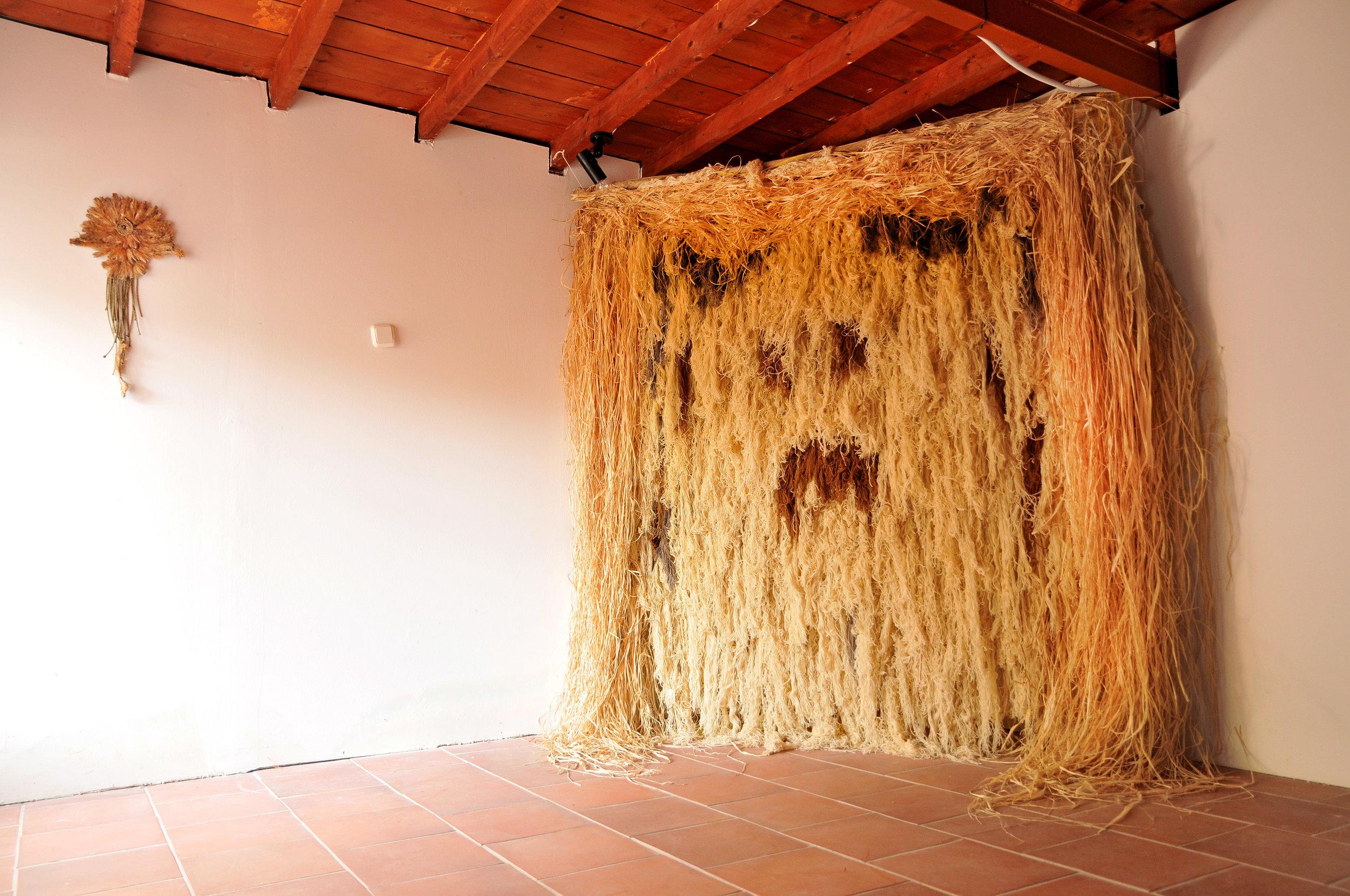Marina Velisioti, Primitive Dance, Ιnstallation, Folklore Museum, Chora, Samothrace, 2019