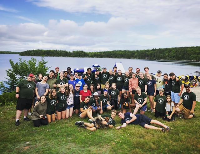 This picture represents only part of the large team of staff and volunteers who worked so hard to make this another incredible summer at Bayside! It was filled with so much fun and so many incredible God moments! Thanks to everyone who made this summer at Bayside possible!! #baysidecamp  #bayside2019 #lifeimpactingexperiences