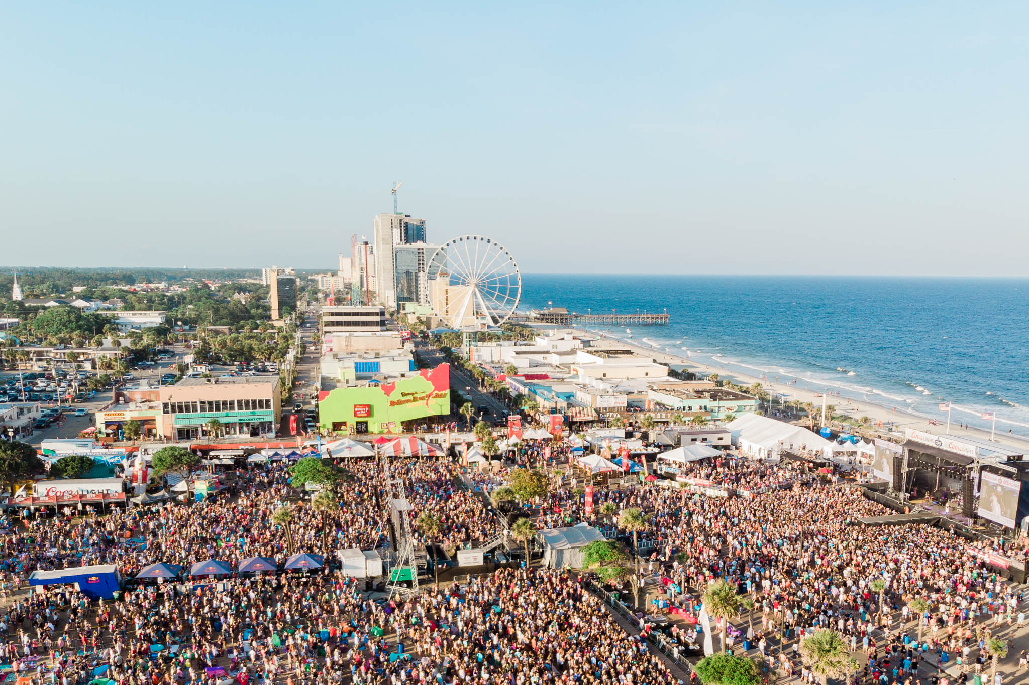 2018's CCMF attracted 113,000 fans to its oceanfront stage. The festival has grown each year and celebrates its fifth anniversary in 2019.