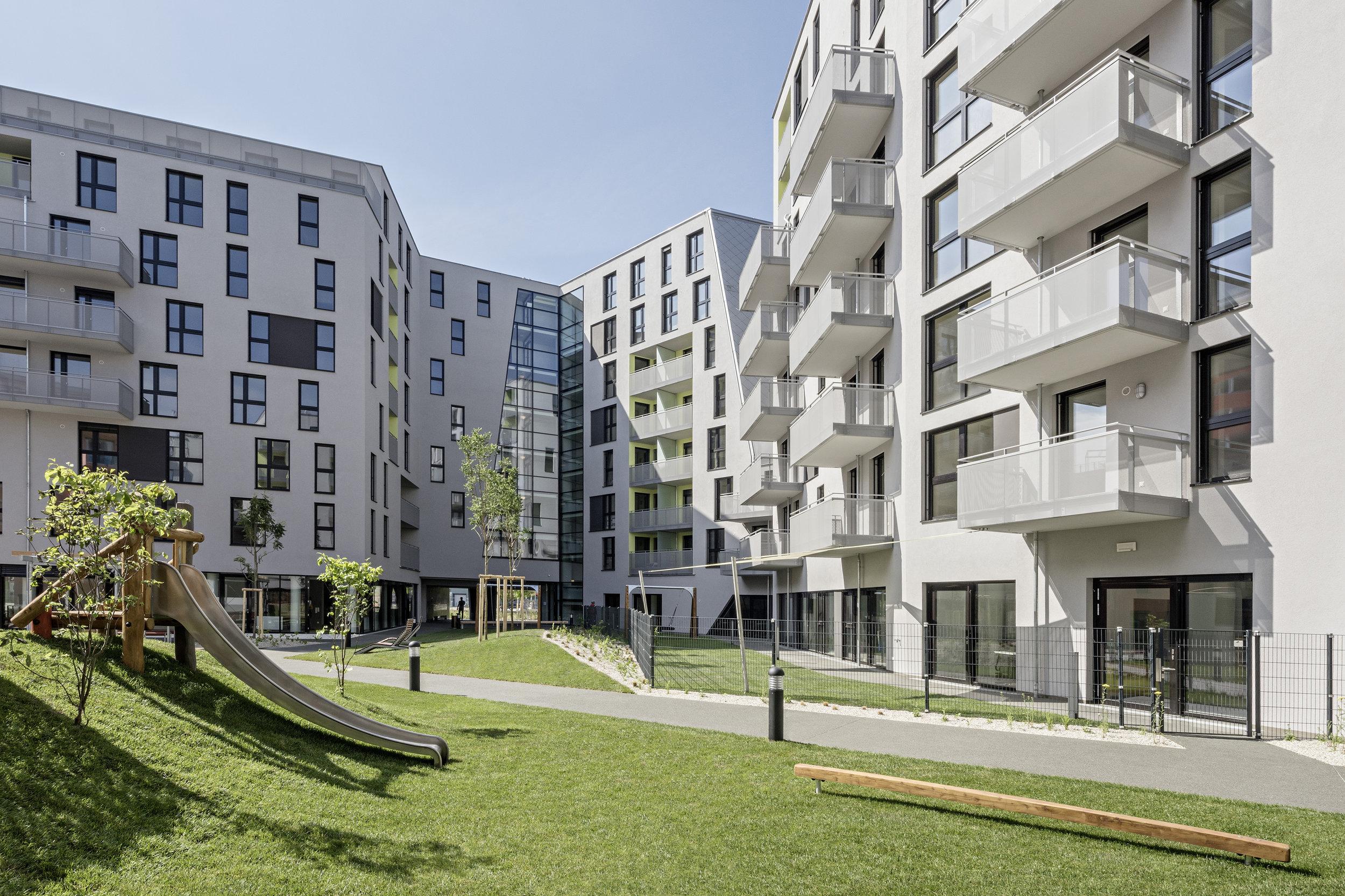 Sonnwendviertel - image credit: Hertha Hurnaus